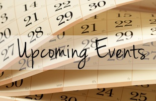 Upcoming Events Homepage